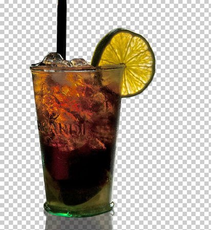 Rum And Coke Cocktail Garnish Dark 'N' Stormy Sea Breeze PNG, Clipart, Alcoholic Drink, Bay Breeze, Black Russian, Caipirinha, Cocktail Free PNG Download