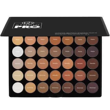 BH Cosmetics | Studio Pro Ultimate Neutrals - 42 Color Shadow Palette | Multi-Color