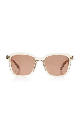 Square-Frame Acetate Sunglasses By Saint Laurent | Moda Operandi