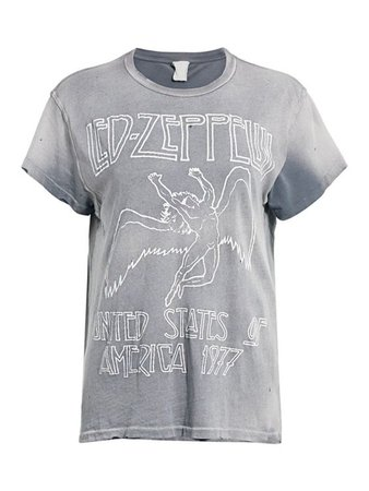 MadeWorn Led Zeppelin United States of America Graphic Tee