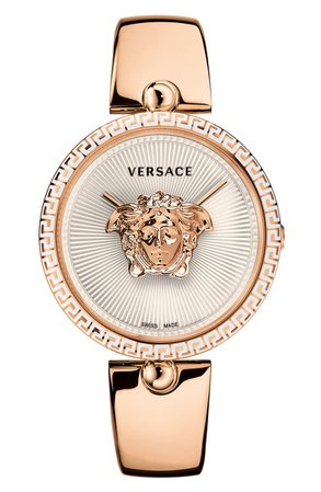 Versace Palazzo Bangle Bracelet Watch, 39mm | Nordstrom
