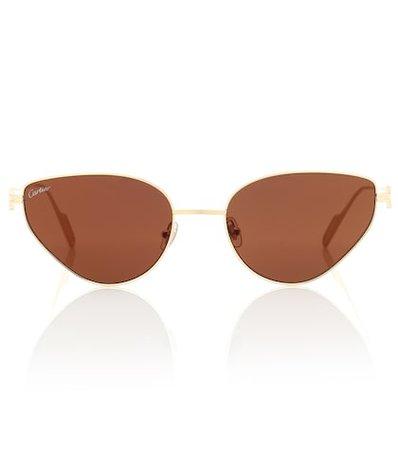 Première de Cartier cat-eye sunglasses