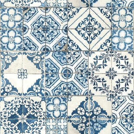 RoomMates Mediterranean Tile Peel & Stick Wallpaper | The Home Depot Canada