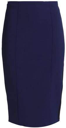 Zip-detailed Ponte Pencil Skirt