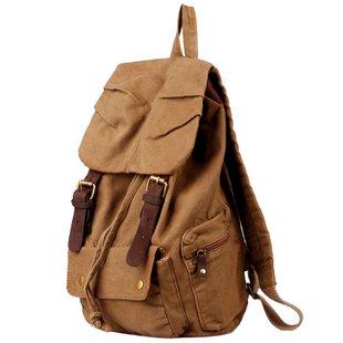 men women Vintage Casual Canvas backpack Shoulder Bag Rucksack | eBay | vintage, brown e backpack