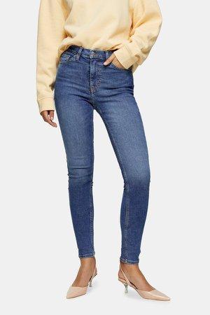 Mid Blue Jamie Skinny Jeans