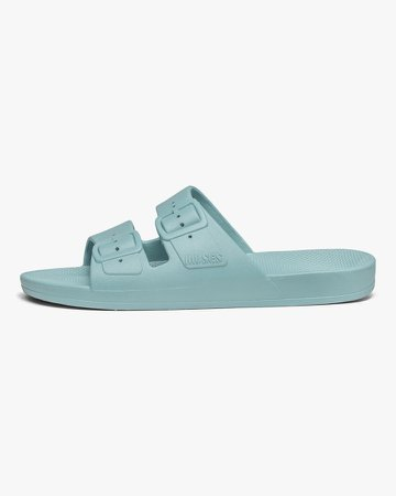 Virgin Light Blue Slides