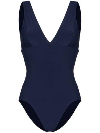 Bondi Born Veronica Deep V-Neck Swimsuit Ss20 | Farfetch.com