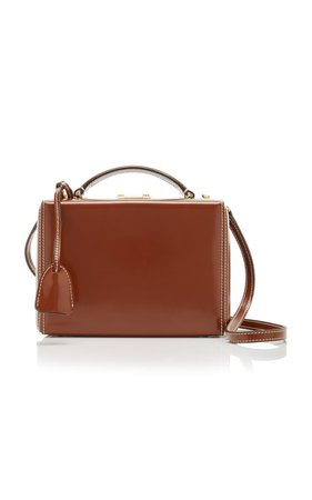 Grace Small Patent-Leather Shoulder Bag By Mark Cross | Moda Operandi
