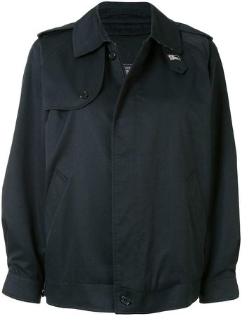 Burberry Pre Owned Trenchcoat-Inspired Jacket