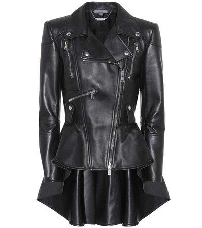 Leather Jacket | Alexander McQueen - mytheresa