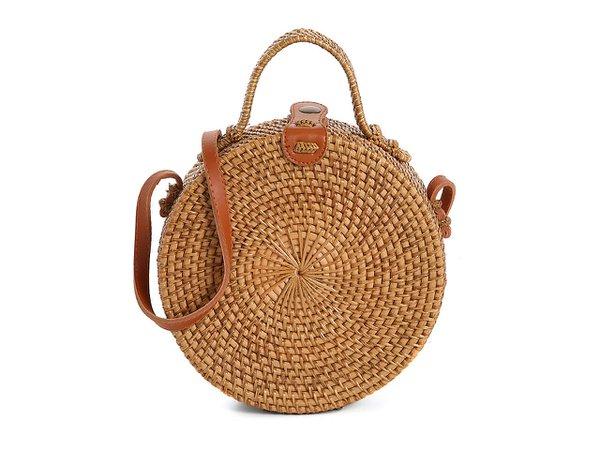 Crown Vintage Rattan Crossbody Bag Women's Handbags & Accessories   DSW