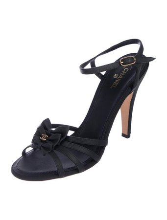 Chanel CC Leather Sandals - Shoes - CHA306597 | The RealReal