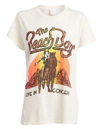 Madeworn | Beach Boys Concert Graphic T-Shirt | INTERMIX®
