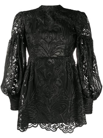 Wandering Embroidered Cocktail Dress - Farfetch
