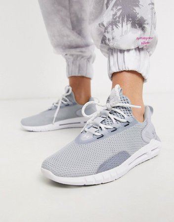 Under Armour Hovr sneakers in gray | ASOS