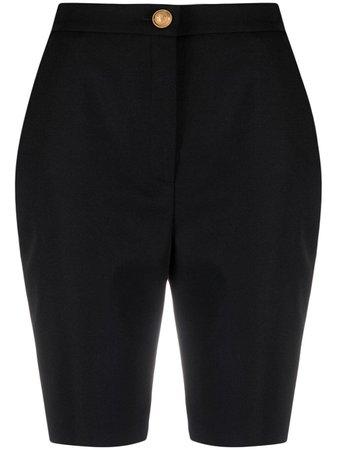 Balmain Short à Taille Haute - Farfetch