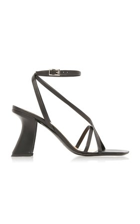 Kertsi Leather Sandals by BY FAR | Moda Operandi