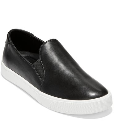 Cole Haan Women's Grandpro Spectator 2.0 Slip-On Sneakers & Reviews - Athletic Shoes & Sneakers - Shoes - Macy's