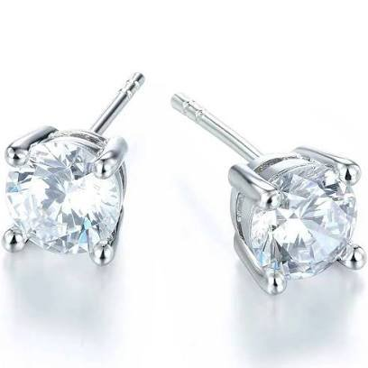 earring diamond studs - Google Search