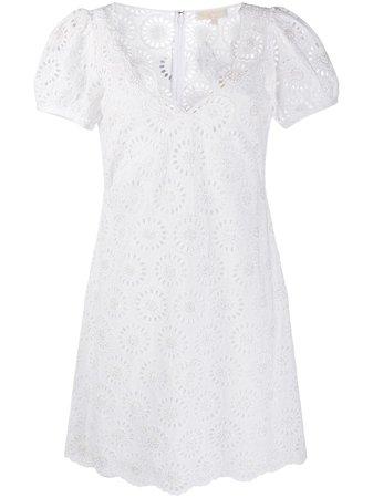 Michael Michael Kors v-neck Mini Dress - Farfetch