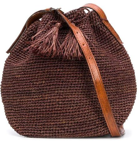 Ibeliv Woven Bucket bag