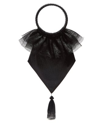 Tassel-embellished woven clutch | The Vampire's Wife | MATCHESFASHION.COM UK