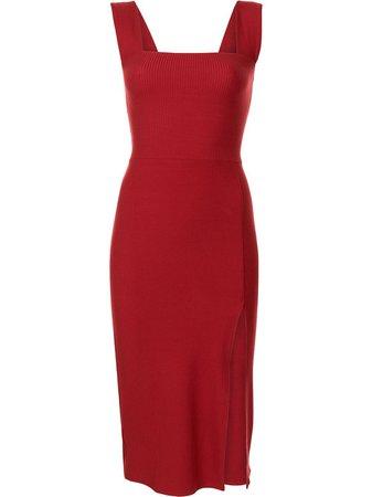 Reformation Cassi Side Slit Midi Dress - Farfetch