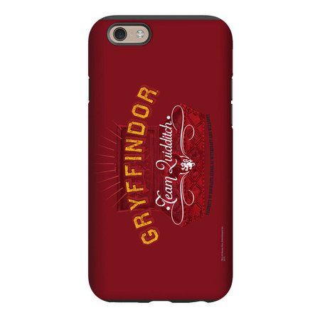 Quidditch Chest and Gryffindor Team Logo Phone Case for iPhone and Gal | Harry Potter Shop