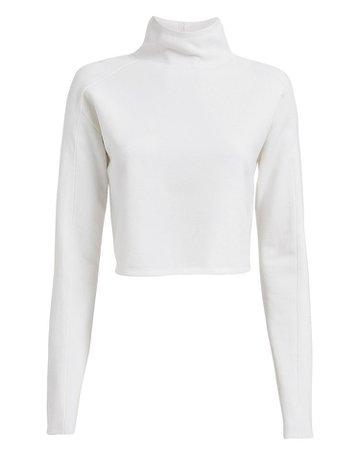 Compact Wool Turtleneck Sweater