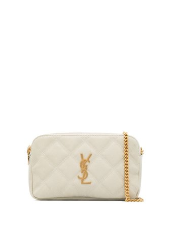 Saint Laurent Becky Quilted Mini Bag - Farfetch