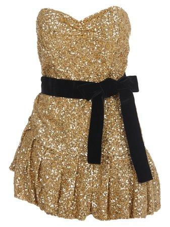 The Attico Sequined Mini Dress