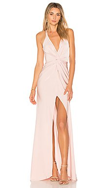 Lovers + Friends Patricia Gown in Light Pink | REVOLVE