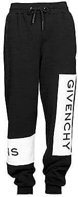 Givenchy Men's New Logo Band Sweatpants