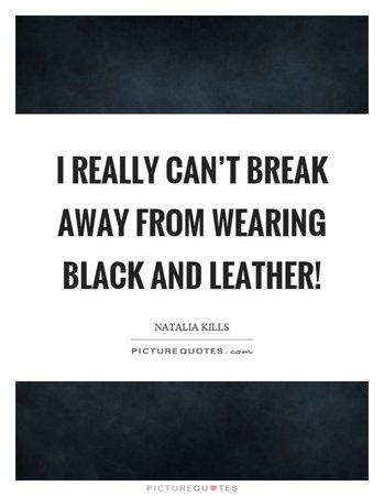 leather quote - Google Search