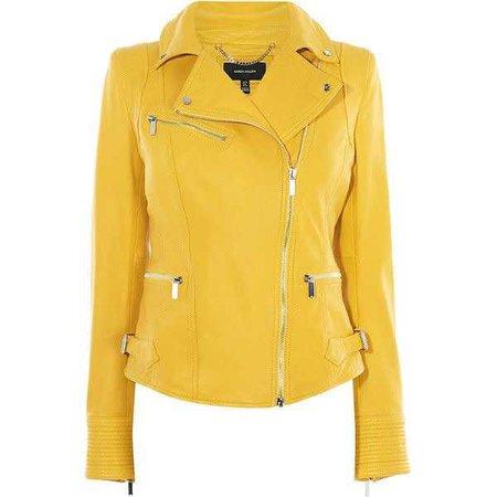 Karen Millen Leather Biker Jacket ($699)