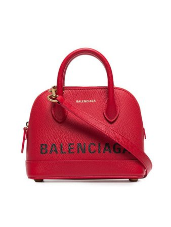 Balenciaga red ville XXS leather top handle bag £1,140 - Shop Online SS19. Same Day Delivery in London