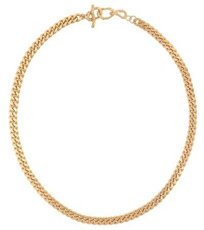 X Man 24Kt Gold-Plated Chain Necklace | Elhanati - Mytheresa
