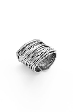 Karine Sultan Adjustable Band Ring | Nordstrom