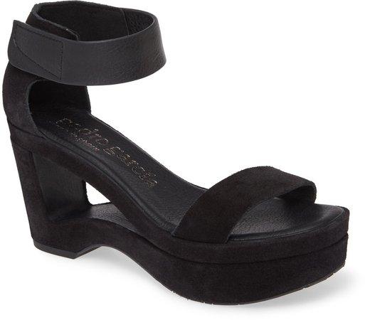 Flamina Cutout Wedge Sandal