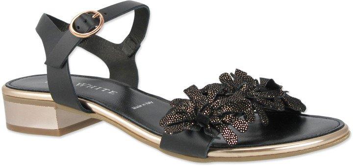 Virginia Block Heel Sandal