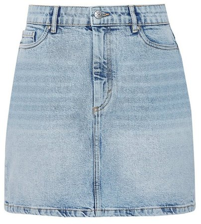 **Only Light Blue Denim Skirt
