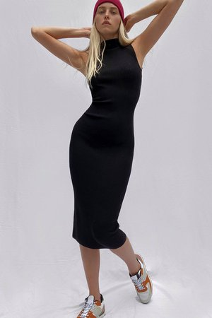 Jolie Knits Bodycon Dress | New Arrivals | French Connection Usa