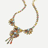 J.Crew: Gem Fan Statement Necklace For Women