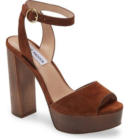 Steve Madden McKinley Platform Block Heel Sandal (Women) | Nordstrom