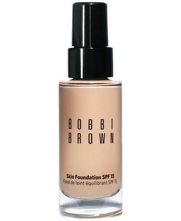 3 Foundation Bobbi Brown Skin Foundation SPF 15, 1 oz & Reviews - Foundation - Beauty - Macy's