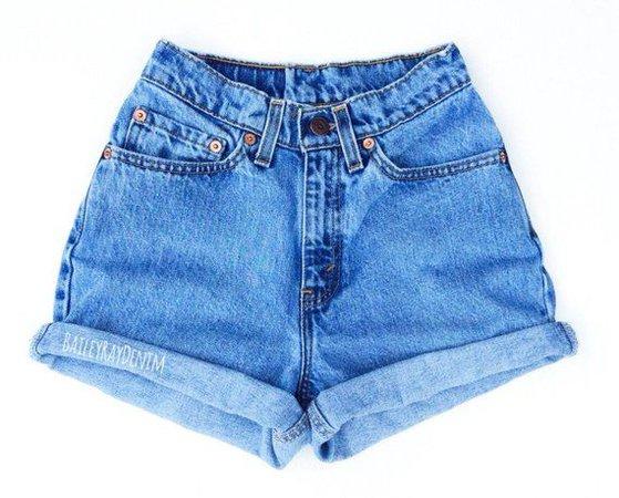 Vintage Levis Shorts High Waisted Denim Shorts Jeans Back to School