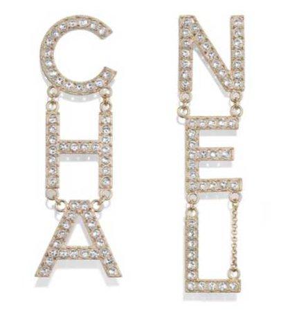 Chanel Logo -Earings