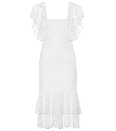 Florence crochet cotton dress