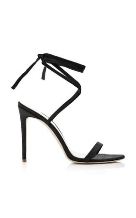 Suede Ankle Wrap Sandals By Brandon Maxwell | Moda Operandi